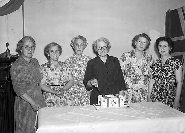 [Monkmoor Road Townswomen's Guild's Coronation celebrations]