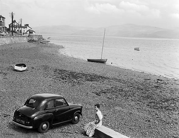 [The Austin A30 in Barmouth and Tal-y-llyn]