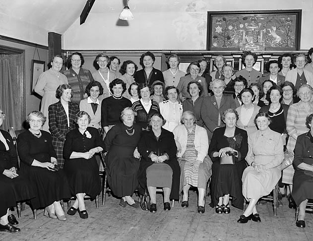 [Chirk British Legion Women's party]
