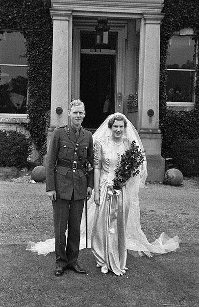 [Wedding at Llanfyllin of Hugh Peter Meredith Lewis and Barbara Margaret Dugdale of Llanfyllin]