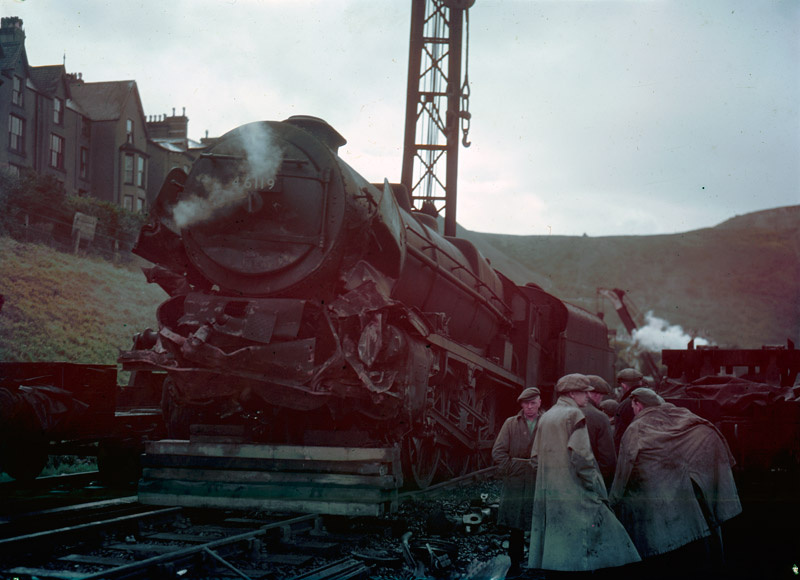 [Irish Mail train crash at Penmaenmawr, August 27 1950]