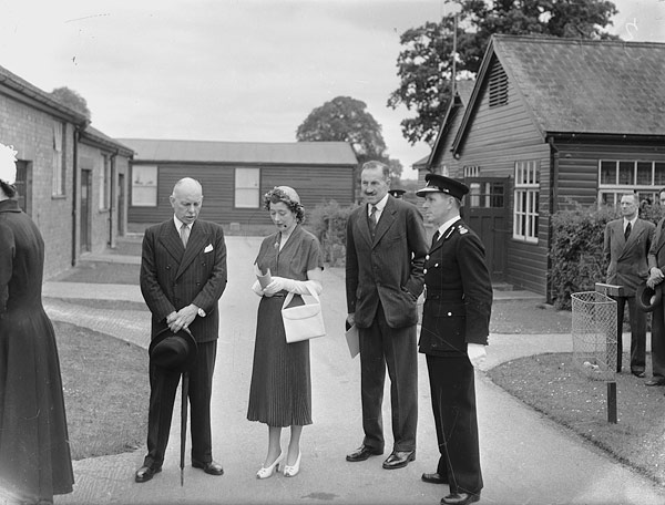 [The Duchess of Kent visiting Gobowen Orthopeadic Hospital]