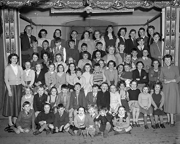 [Sunday School party at Beatrice Street Methodist Church, Oswestry]