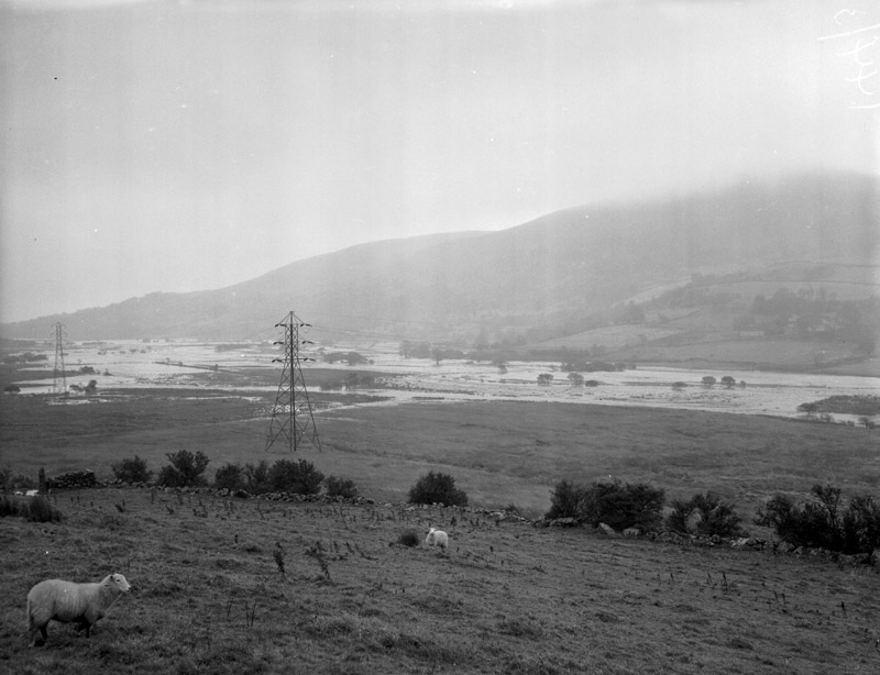 [Floods in Tryweryn Valley]