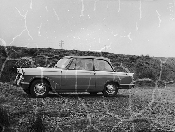 "[Triumph Herald road test - ""The car that's all comfort""]"
