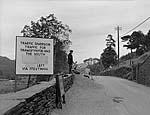 """[Widening """"Oakley Drive"""" between Porthmadog and Ffestiniog at Maentwrog]"""