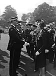 [Red Cross and St John's Ambulance inspection at Cae Glas, Oswestry]