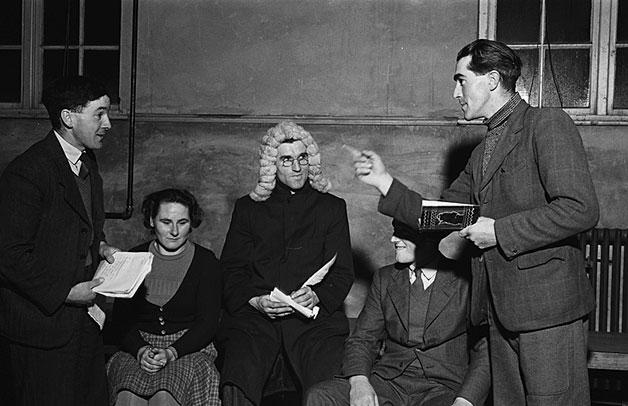 [Young Farmers' Club mock trial at Llanrhaeadr-ym-Mochnant]