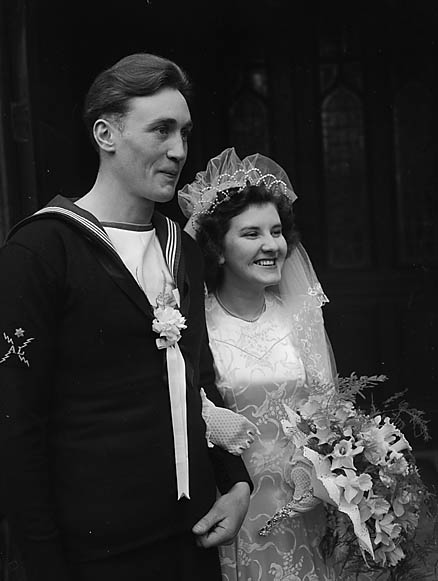 [Wedding of Ann Perkins and George Rugg at St Alkmund's, Shrewsbury]