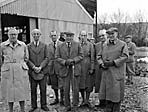 [Forestry Commission visit to a sawmill in Cynwyd]