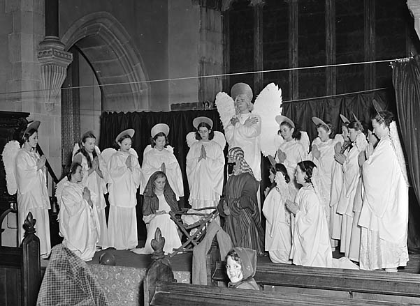 [Nativity play, Ruabon]