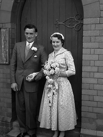 [Wedding of Mr & Mrs Hughes in Trefonen]