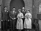 [Wedding of Mr & Mrs Hughes in Trefonen]