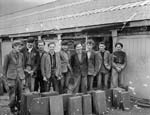 [Portraits of activities at Penrhyn Quarry, its apprentices and railway]