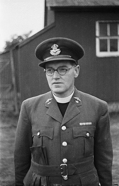 [Rev. Rhys Davies, who has been appointed as a Royal Air Force Chaplain]