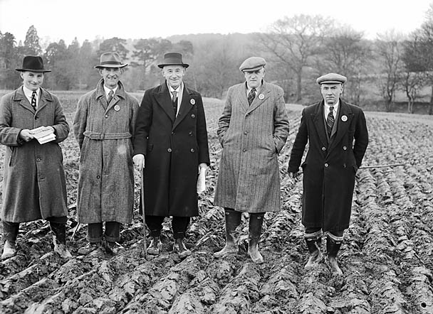 [Ploughing Match at Builth Wells]