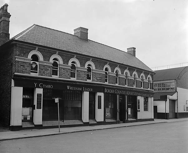 [Main offices of Caxton Press at Oswestry]