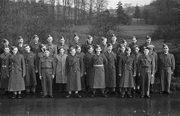 [Betws Cedewain Home Guard]