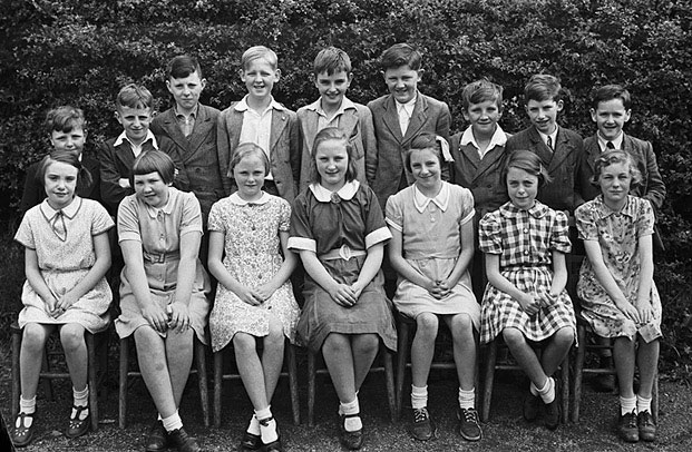 [Pupils of Penygloddfa Council School who qualified for places at Newtown County School]