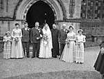 [Wedding of Janice Ann Williams and Derrick Harold Edwards at Oswestry Parish Church]