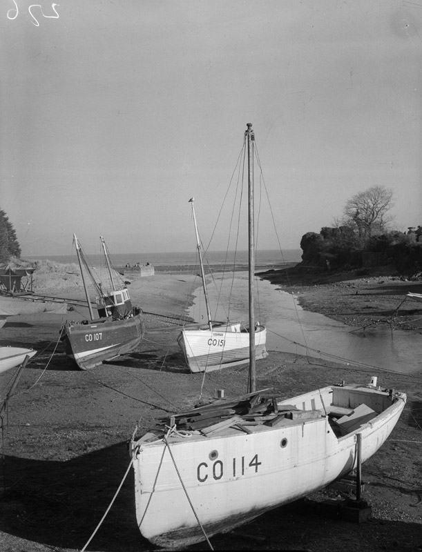 [Abersoch harbour before the marina development]