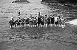 [Urdd Camp at Llangranog, August 1940]