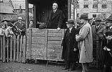[War Charities sale at Llanidloes Mart]