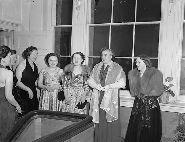 [Nurses' dance at Royal Salop Infirmary, Shrewsbury]