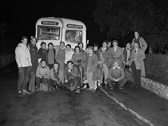 [Students climb Snowdon 1958]