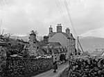 "[Broadcasting the English language radio programme ""County Town"" from Dolgellau]"