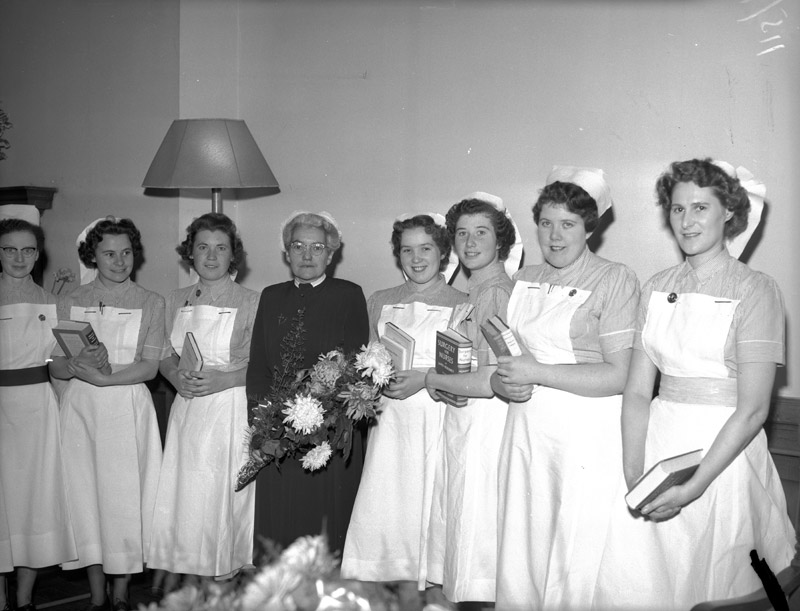 [Prize-giving day at Caernarfon and Anglesey General Hospital, Bangor]