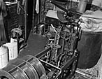 """[Production of """"Y Cymro"""" at Caxton Press, Oswestry]"""