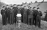 [Llanfair Caereinion Royal Observer Corps who won a new Silver Challenge Cup]