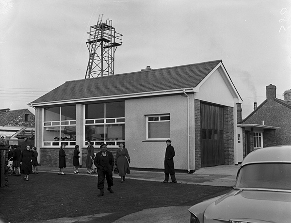 [New building of Tywyn fire station]