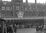 [The Queen in Shrewsbury and at the opening of Claerwen Dam]