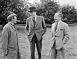[Heathcot Amory, the Minister of Agriculture, visits Wales]