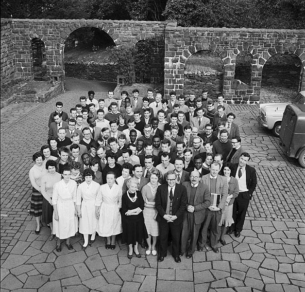 [Staff a myfyrwyr Coleg Harlech 1962-63]
