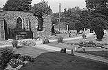 [Renovation of Newtown old churchyard and restoration of the church tower and Robert Owen's Tomb]