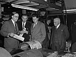 [Members of Oswestry Town Council visit the Caxton Press, Oswestry]