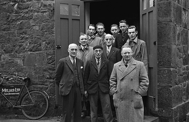 [Opening of Llanidloes Boys' Club]