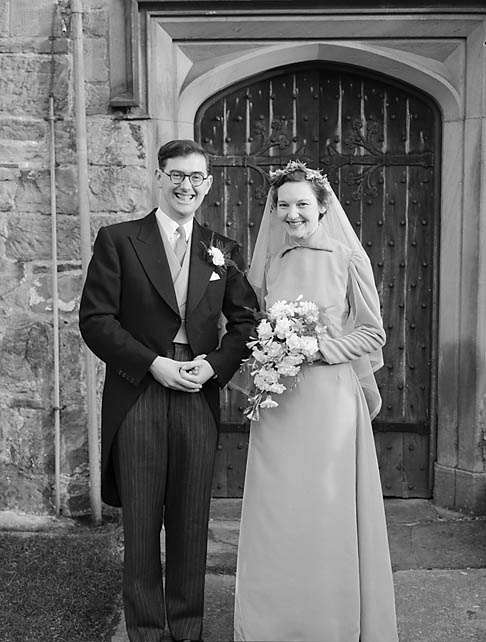 [Brown/Williams wedding at Chirk]