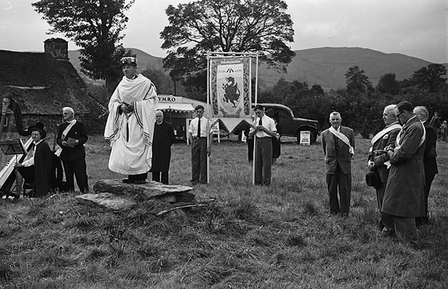 [Proclamation of Powys Eisteddfod in the Banw area, 1948]