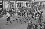 [Royal Air Force Association's parade at Newtown for Battle of Britain Week, 1948]