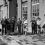 [Cyhoeddi Eisteddfod Genedlaethol yr Urdd 1966 yng Nghaergybi]