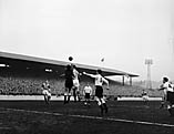 [Leeds versus Cardiff football match at Elland Road, Leeds]
