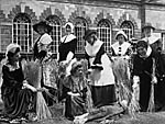 [Women's Institutes Folk Festival, Margam Park: High Sheriff and forgotten crafts]