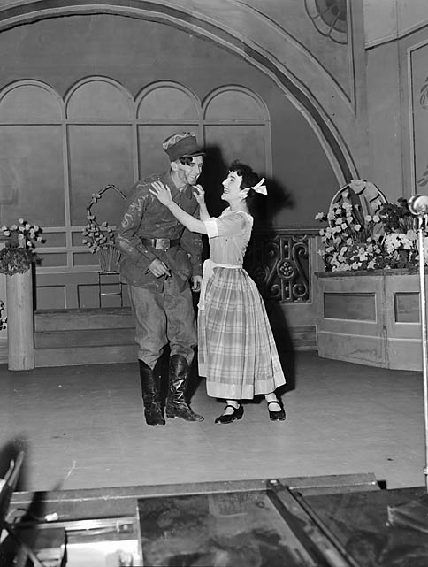 """[Newtown Operatic Society's presentation of """"Good Night Vienna"""" at the County Pavilion, Newtown]"""