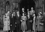 [Wedding of Betty Pickering to George Ridgeway at St Alkmond's, Shrewsbury]
