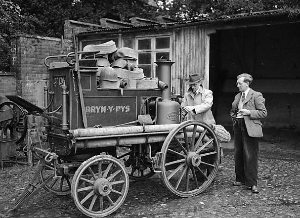 [The story of lot 1201, Bryn-y-pys fire engine]