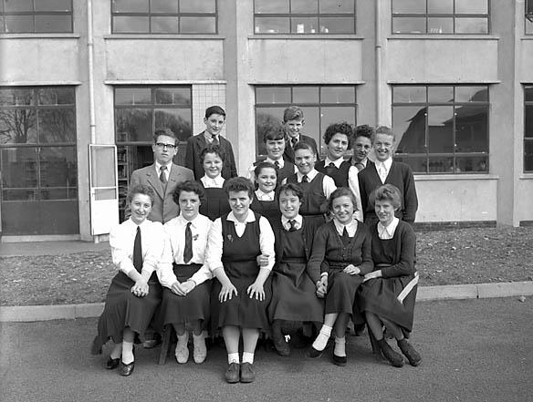 [Brynrefail School, 1958]